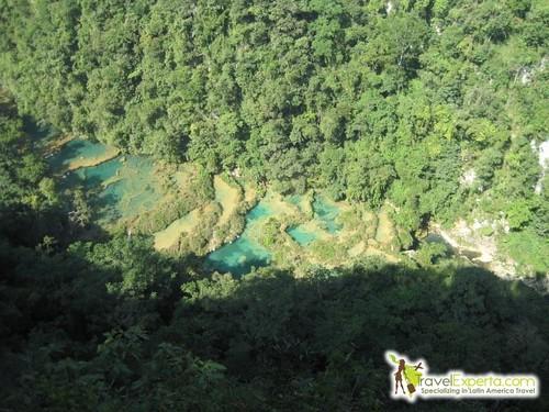 Semuc Champay View From Mirador