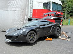 Lotus Elise (ComfortablyNumb...) Tags: lotus elise hatch brands motorsport autosport ecar