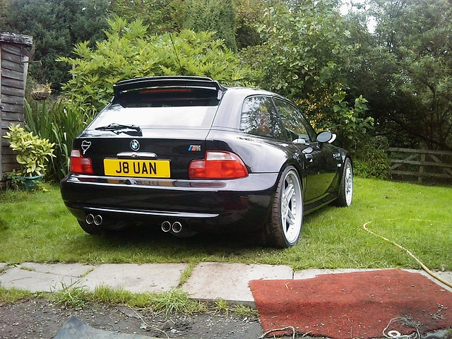 1999 M Coupe | Cosmos Black | Imola/Black | AC Schnitzer Type II Hatch Spoiler