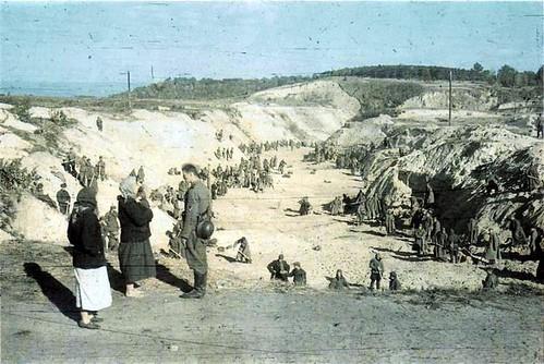 Kiev (Babi Yar) octubre de 1941.