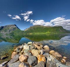 Norway - Vangsmjösi czyli jezioro Vang (Mariusz Petelicki) Tags: norway norge hdr vang norwegia grindafjellet vertorama vangsmjösi jeziorovang