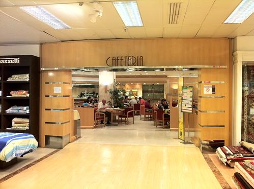 Zaragoza | Cafetería de El Corte Inglés | Entrada