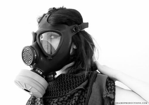 Gasmask Woman