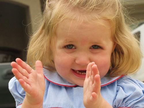 Anna- clapping
