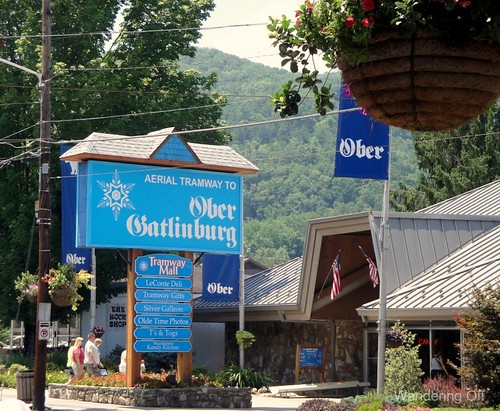 Ober Gatlinburg entrance.