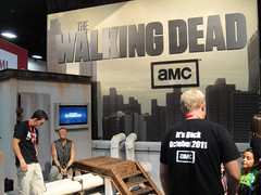 San Diego Comic-Con 2011 - Walking Dead booth