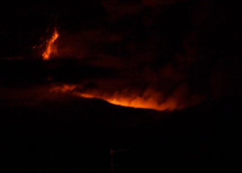 Eruption on Etna closeup crop