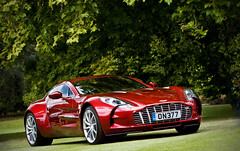 Aston Martin One-77 Nr. 9 (Murphy Photography) Tags: new uk red brown london photography one martin bordeaux gb 77 murphy aston