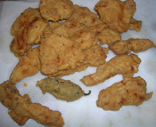 Fried Grouper (and Jalapeno!)