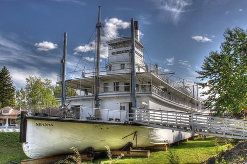 ss riverboat steamship sternwheeler nenana 2011nhlphotocontest ssnenenanationalhistoriclandmarkalaska
