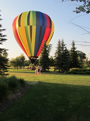 IMG_2443 (ellenm1) Tags: summer color kids evening michigan hotairballoon recreation southlyon