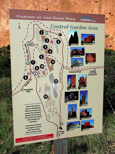 Garden of the Gods Paths