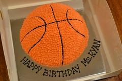Basketball Cake (sweetmillies) Tags: birthday basketball cake ball