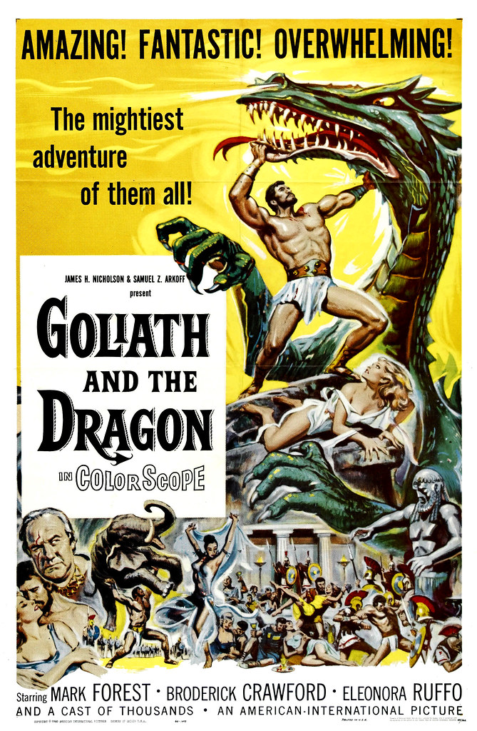 Reynold Brown - Goliath and the Dragon (American International, 1960)