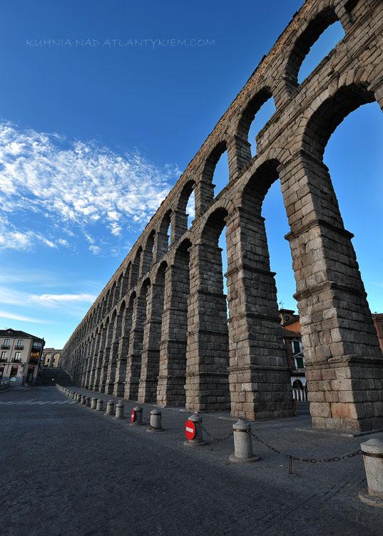 Segovia Roman aqueduct, Spain