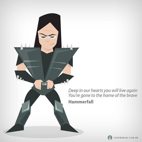 Hammerfall • Qual é a música?