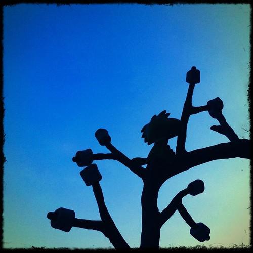 マシュマロの木とウッドストック