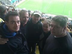 Jungliberale beim Spiel Dynamo vs Leverkusen