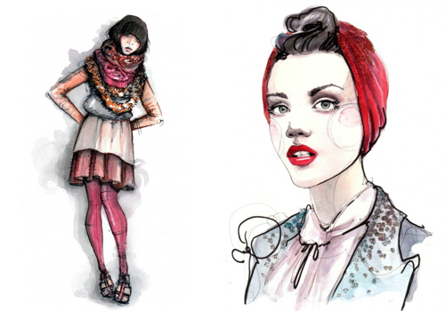 6013703891 7580eb8930 30 Fashion Illustrators You Can't Miss Part 3