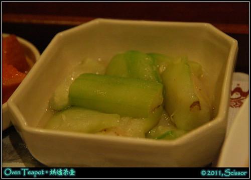 套餐附菜 絲瓜