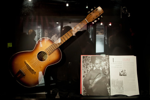 657/1000 - George Harrisons first Guitar by Mark Carline
