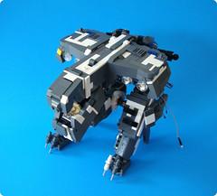 metal gear fail (aabbee 150) Tags: metal lego gear rex fail