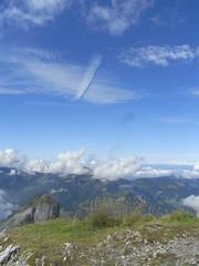 Wolkenformation (retep_1) Tags: clouds mellau sterreich wolken vorarlberg bregenzerwald kanisfluh