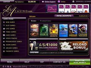 Les A Casino Lobby