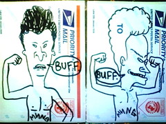 buff (belowwherewebelong) Tags: buff beavis butthead mung