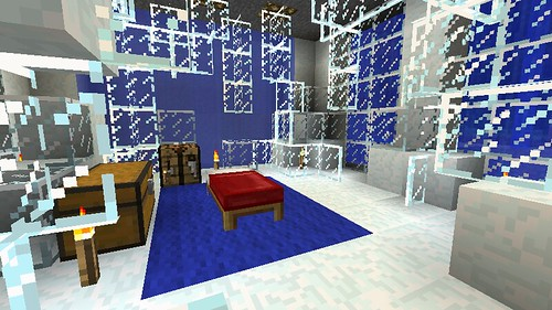 Ice Themed Bedroom By Deadalready On Flickr