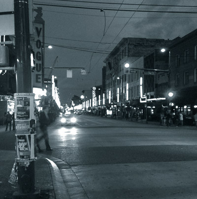 Granville St. Vancouver