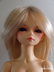 Blonde? (spikelover trying to make the best of it) Tags: natural bjd fl resin fairyland msd mnf auriana minifee woosoo