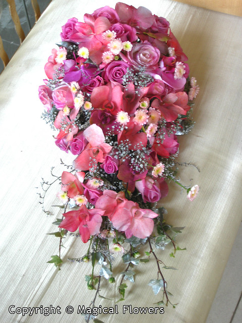 Bridal Bouquet Designs From Magical Flowers
