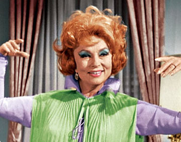 Agnes Moorehead as Endora in Bewitched