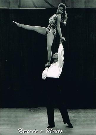 Nereyda y Mirito Arvelo,. 1971