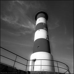 S.O.S. (m@tr) Tags: bw lighthouse france blancoynegro canon faro monocromo sos aude seales portlanouvelle canoneos400ddigital languedocroselln mtr sigma1020mmexdc marcovianna imagenesdefrancia fotosdefrancia