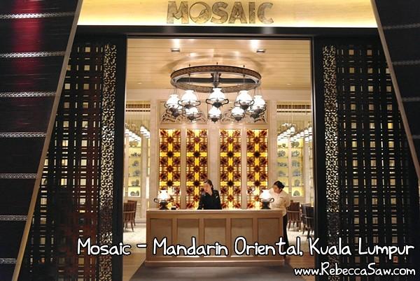 Mosaic- Mandarin Oriental, Kuala Lumpur-32