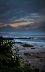 Sun Setting on Maui (kris102008) Tags: ocean sunset sea landscape hawaii maui sunsetoverocean