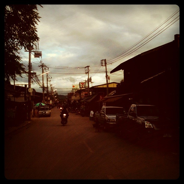 Pai Streets, Northern Thailand