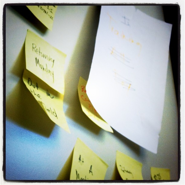 I love Post-its!