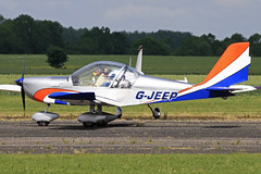 G-JEEP (QSY on-route) Tags: club aero lincon sturgate egcs gjeep 04062011