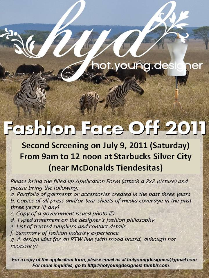 HYD Fashion Face Off 2011 Poster 03