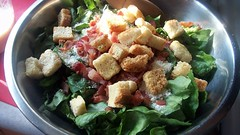 Caesar Salad (Wendy Cooper) Tags: bacon salad dressing croutons saladdressing caesarsalad romainelettuce 2011