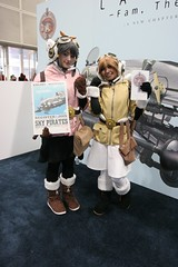 Fam, Giselle - Last Exile: Fam, The Silver Wing - Anime Expo