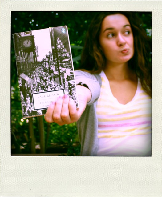 Saul Bellow Polaroid