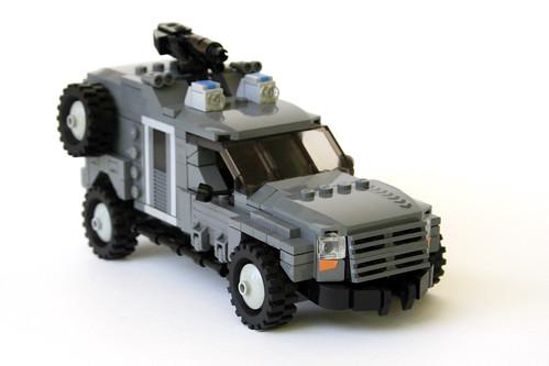 Custom minifig Wolverine LAPV