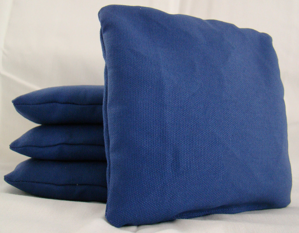 Blue Cornhole Bags