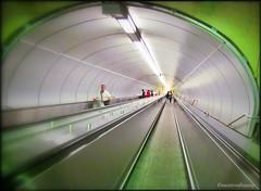Going low underground - Beaudry Metro Station (montreal_bunny) Tags: urban green canon subway downtown metro montreal low july transportation stm beaudry odc 2011 cmwdgreen cmwdweeklywinner ourdailychallenge sx30is canonpowershotsx30is