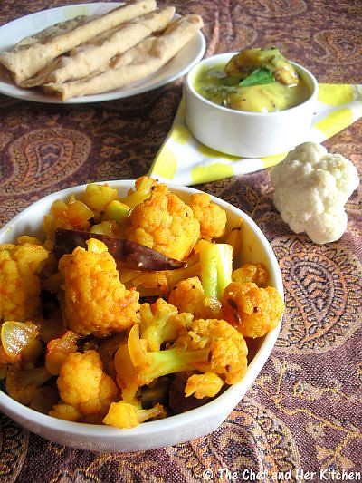 Simple Cauliflower(Gobi) Curry