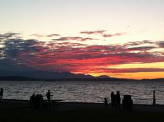 7-3-11 (mkrumm1023) Tags: seattle sunset beach washington alki westseattle